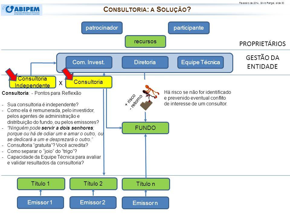 Consultoria: a Solução