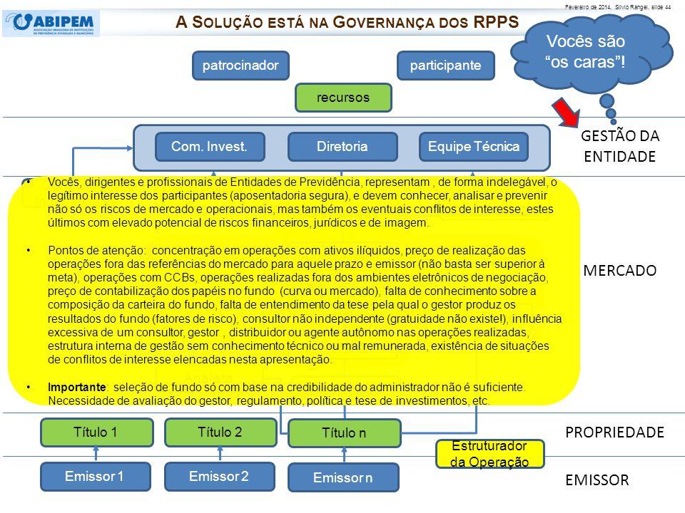 A Solução está na Governança dos RPPS