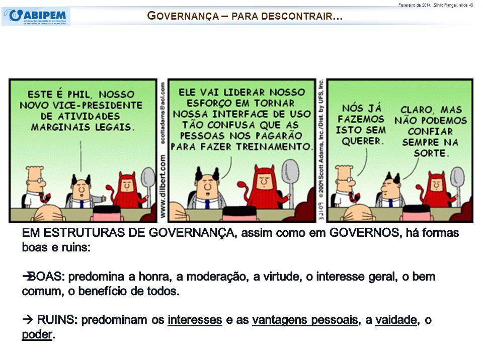 Governança – para descontrair...
