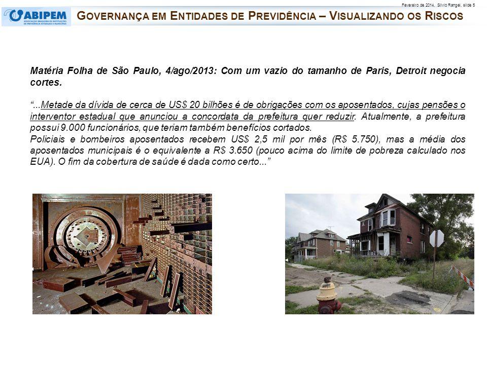 Governança em Entidades de Previdência – Visualizando os Riscos