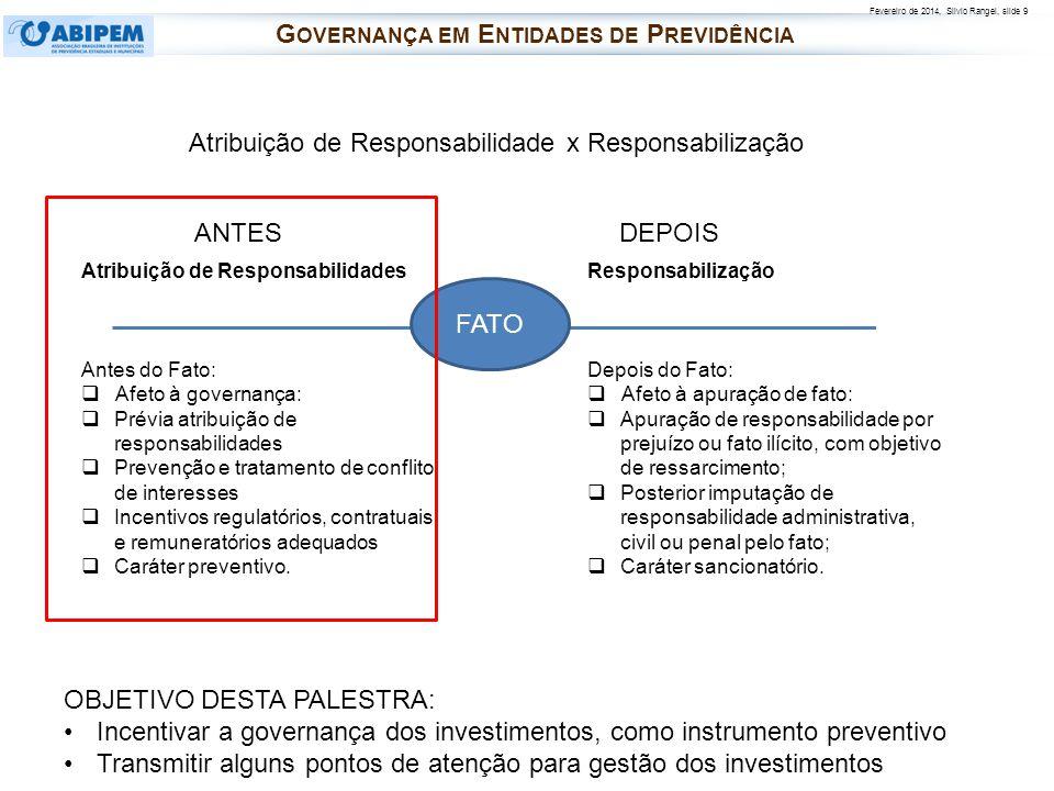 Governança em Entidades de Previdência