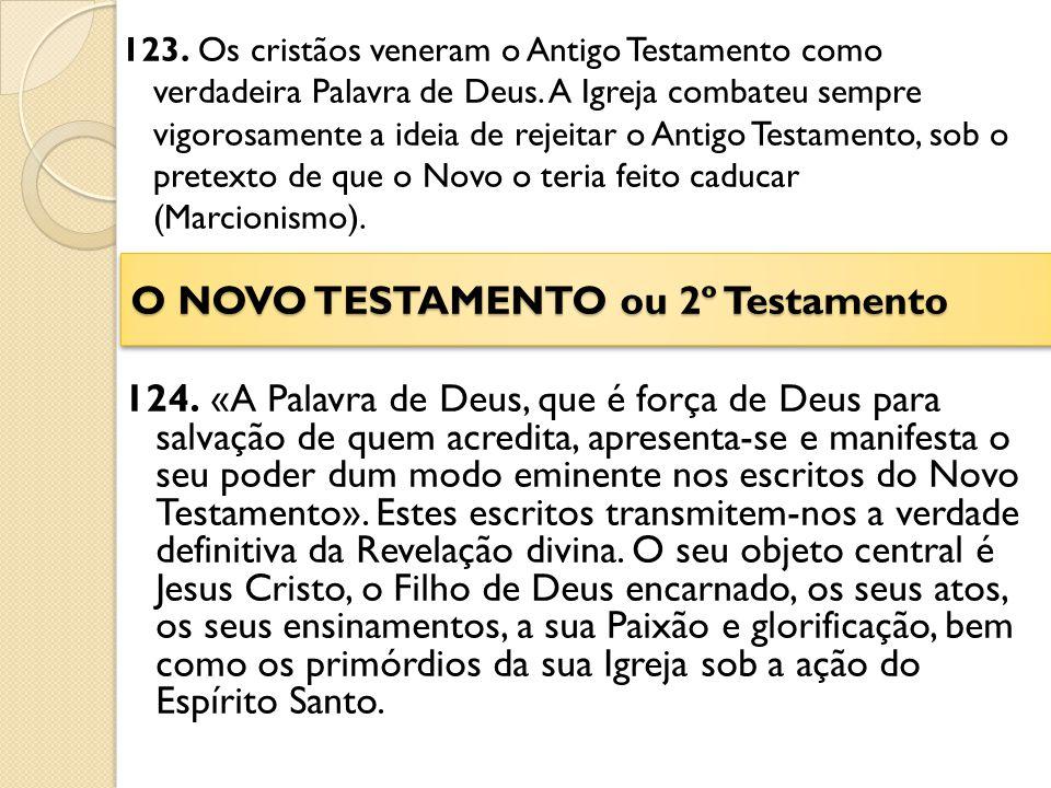 O NOVO TESTAMENTO ou 2º Testamento
