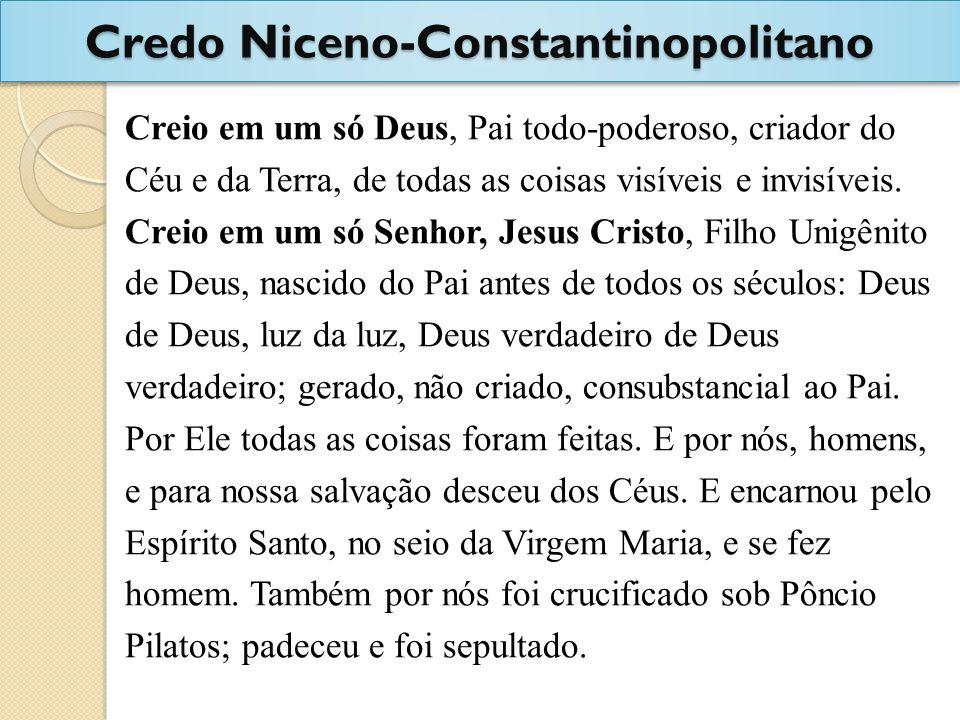 Credo Niceno-Constantinopolitano