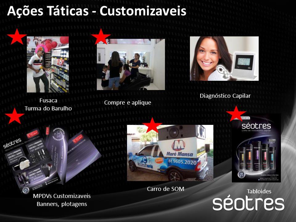 Ações Táticas - Customizaveis