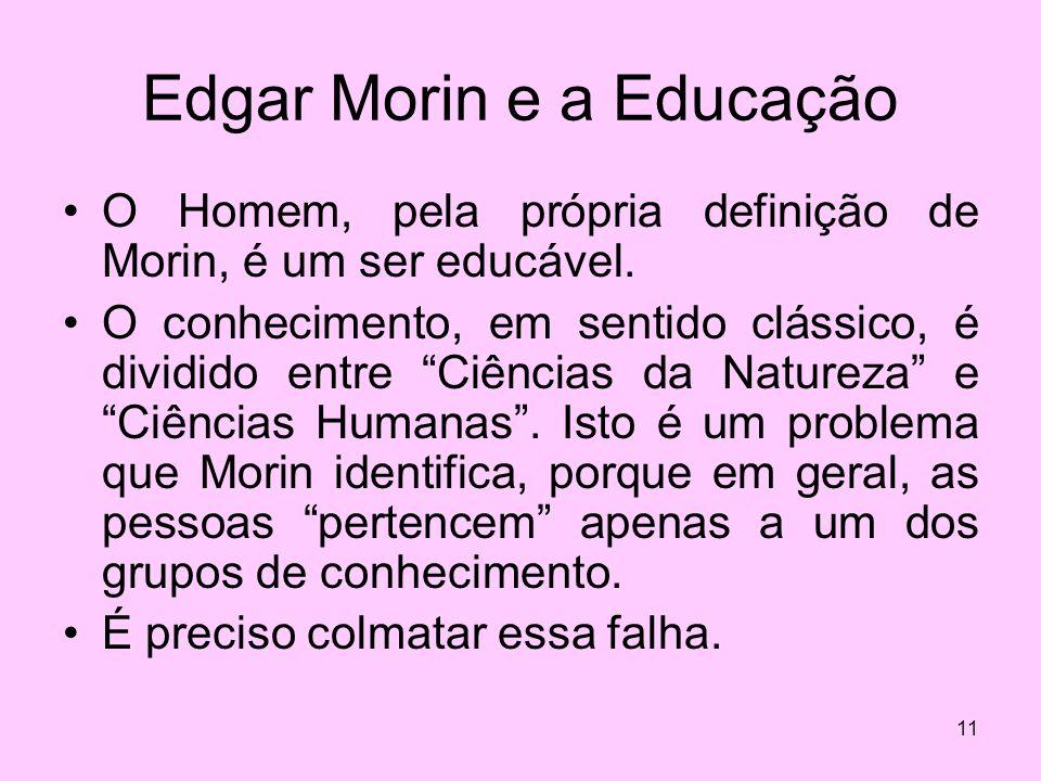 Edgar Morin e a Educação