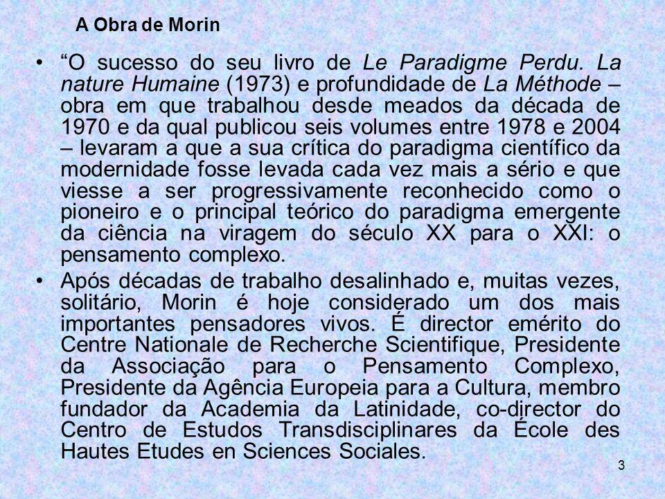 A Obra de Morin