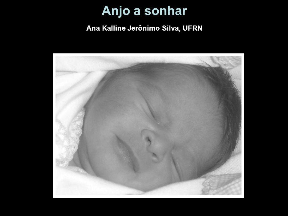 Anjo a sonhar Ana Kalline Jerônimo Silva, UFRN