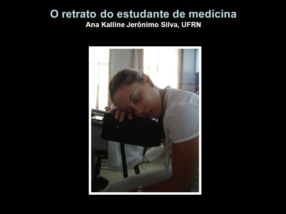 O retrato do estudante de medicina Ana Kalline Jerônimo Silva, UFRN