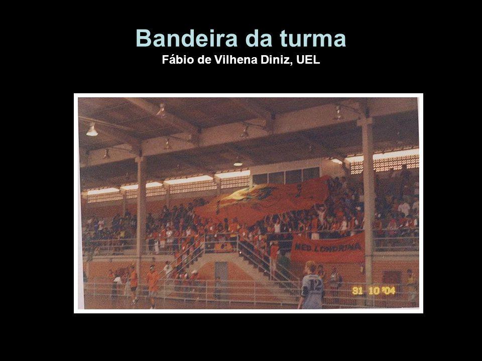 Bandeira da turma Fábio de Vilhena Diniz, UEL