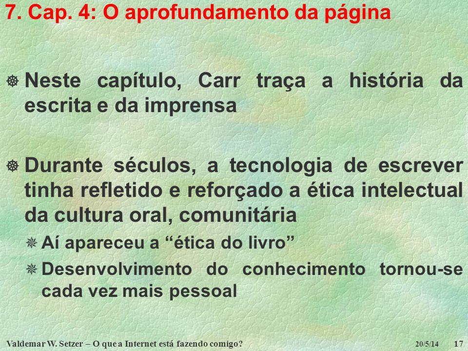 7. Cap. 4: O aprofundamento da página