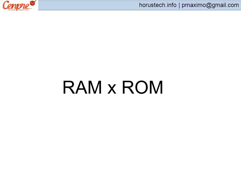 RAM x ROM
