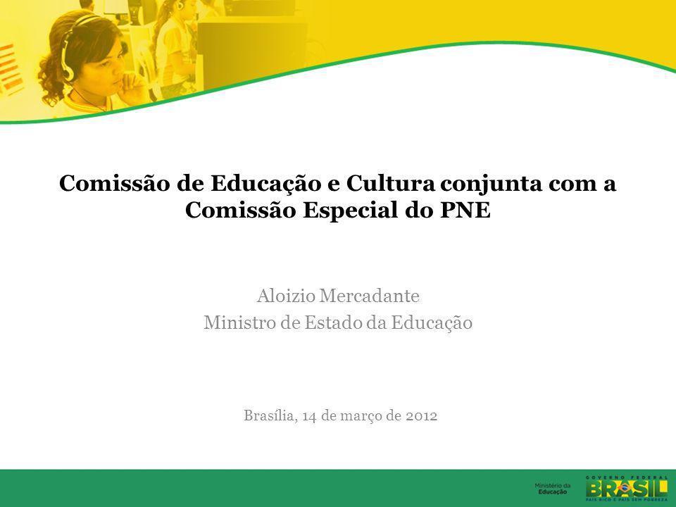 Comissão de Educação e Cultura conjunta com a Comissão Especial do PNE