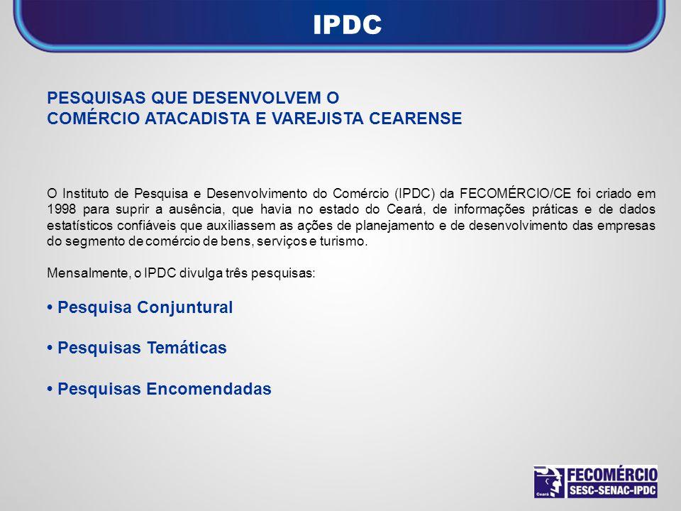 IPDC PESQUISAS QUE DESENVOLVEM O