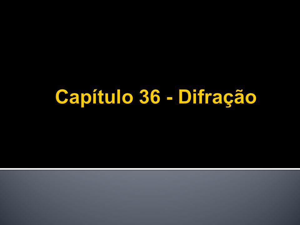 Capítulo 36 - Difração