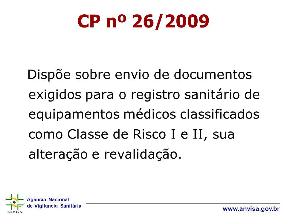CP nº 26/2009