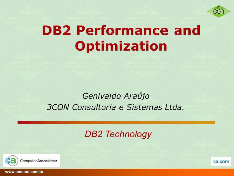 DB2 Performance and Optimization