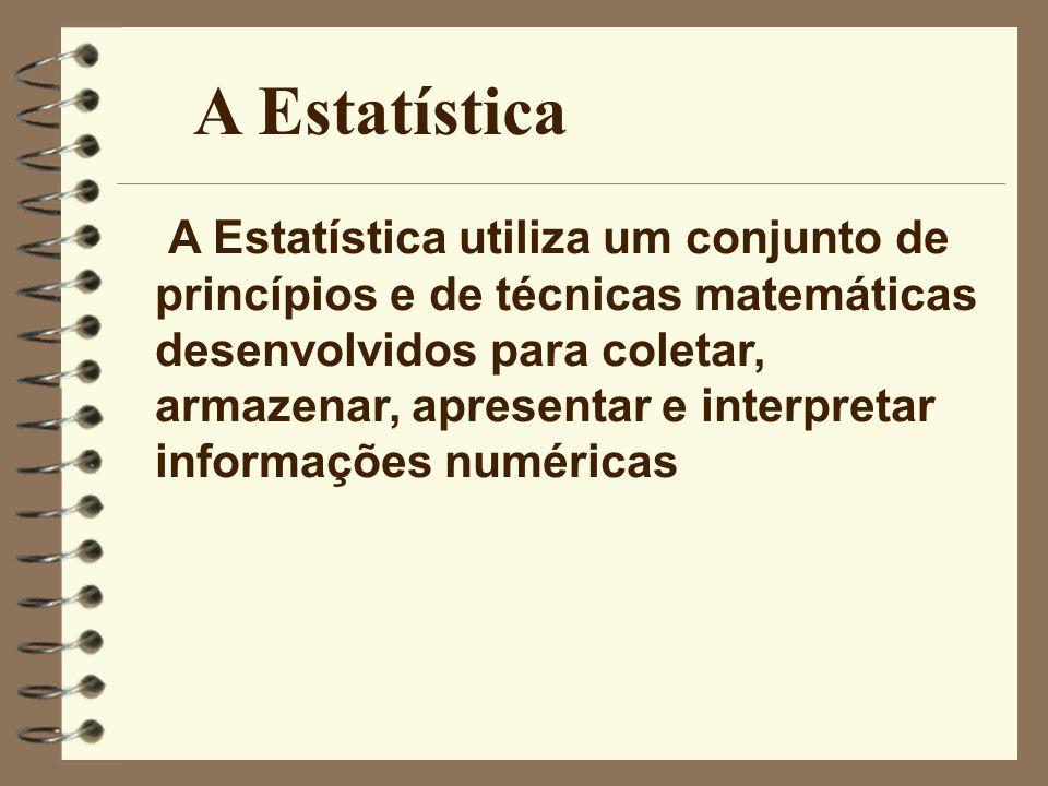 A Estatística