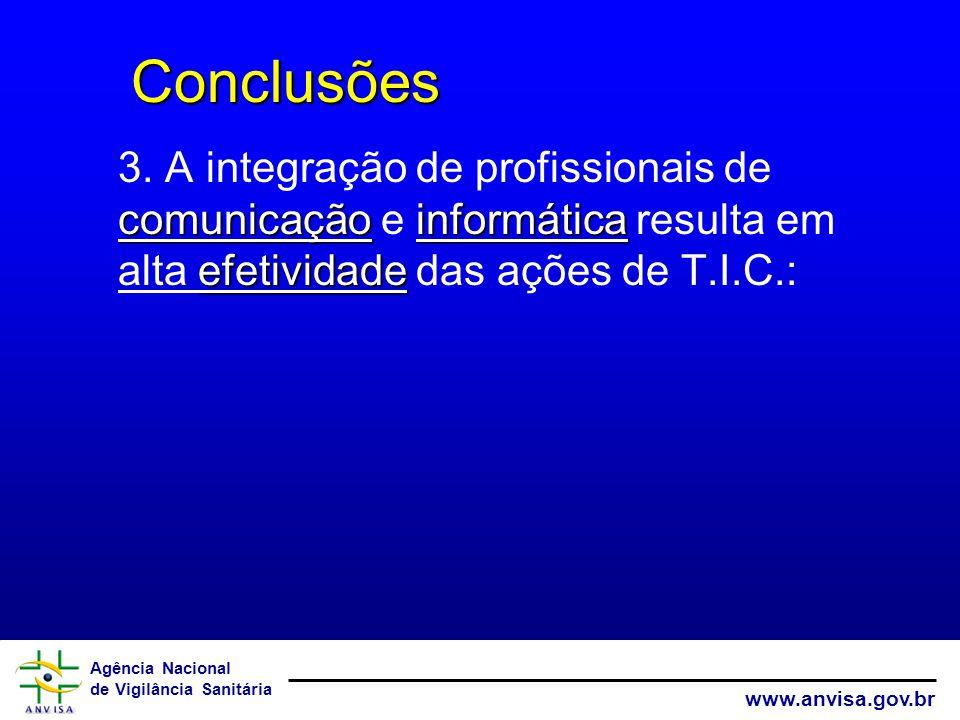 Conclusões 3.