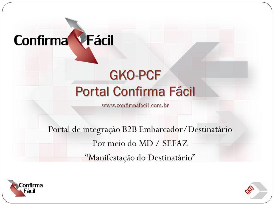 GKO-PCF Portal Confirma Fácil