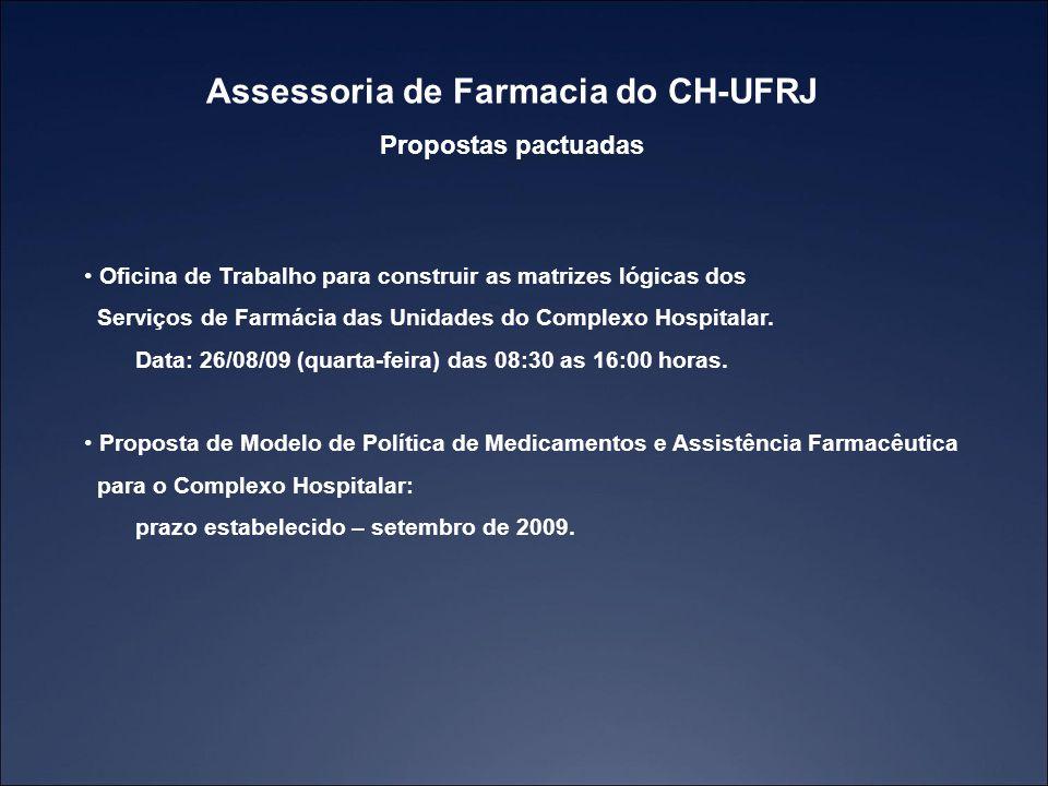 Assessoria de Farmacia do CH-UFRJ
