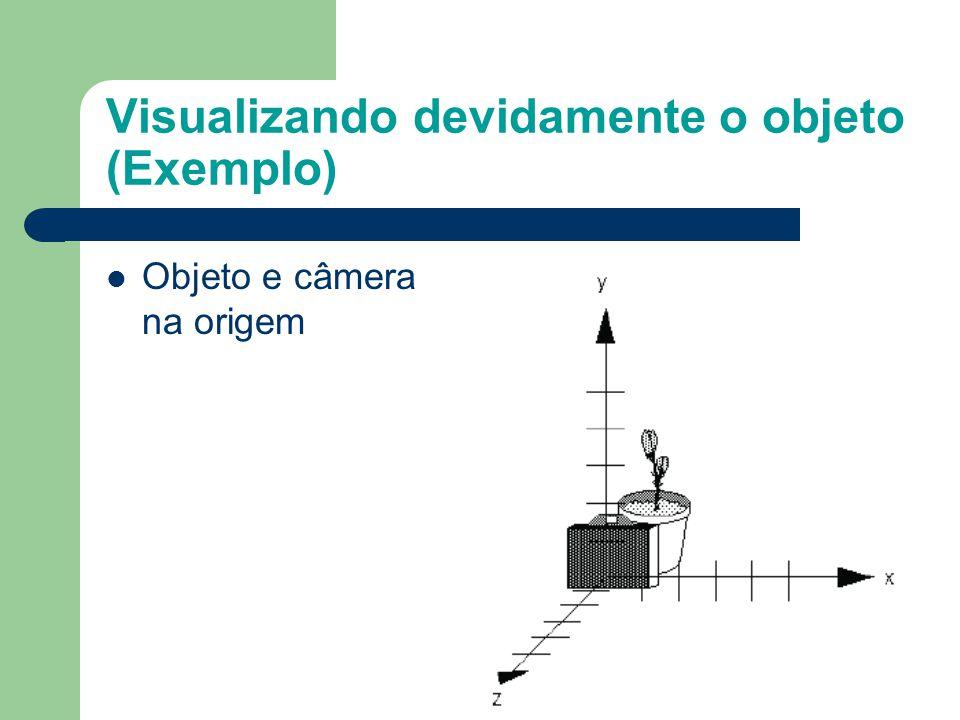 Visualizando devidamente o objeto (Exemplo)