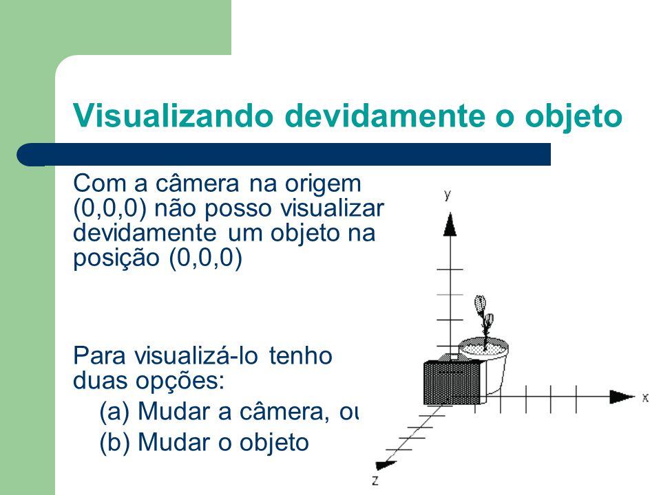 Visualizando devidamente o objeto