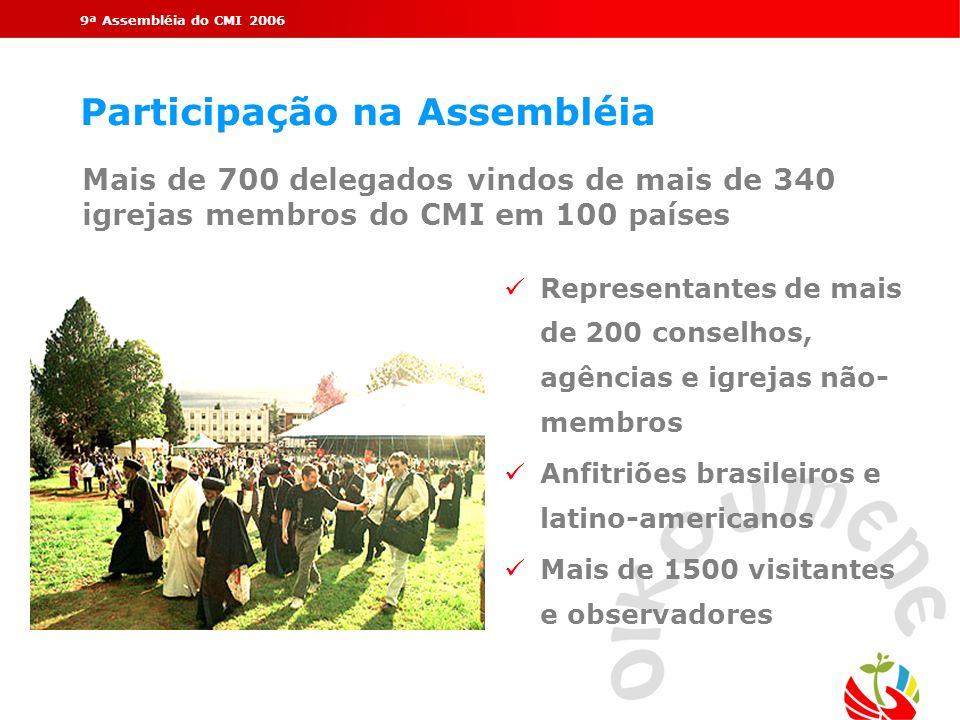 Participação na Assembléia