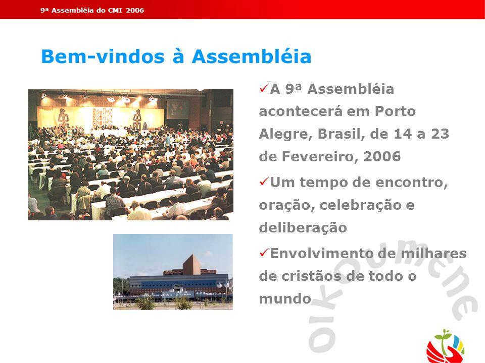Bem-vindos à Assembléia