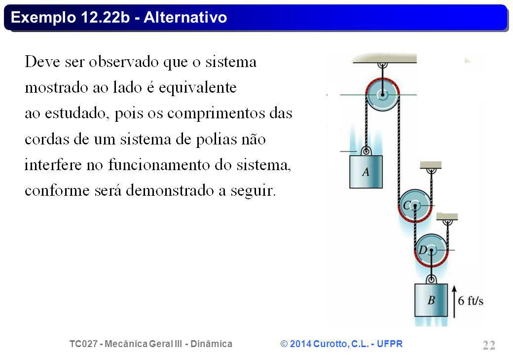 Exemplo 12.22b - Alternativo