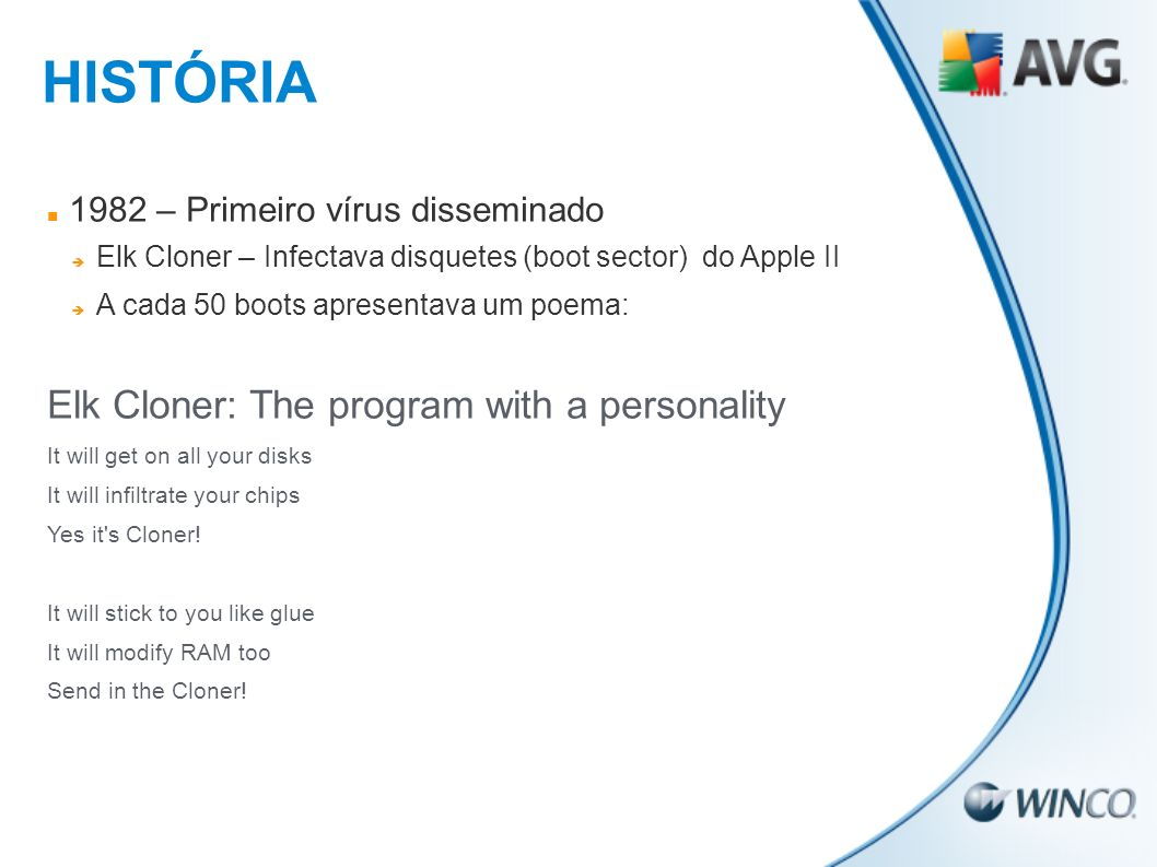 HISTÓRIA Elk Cloner: The program with a personality