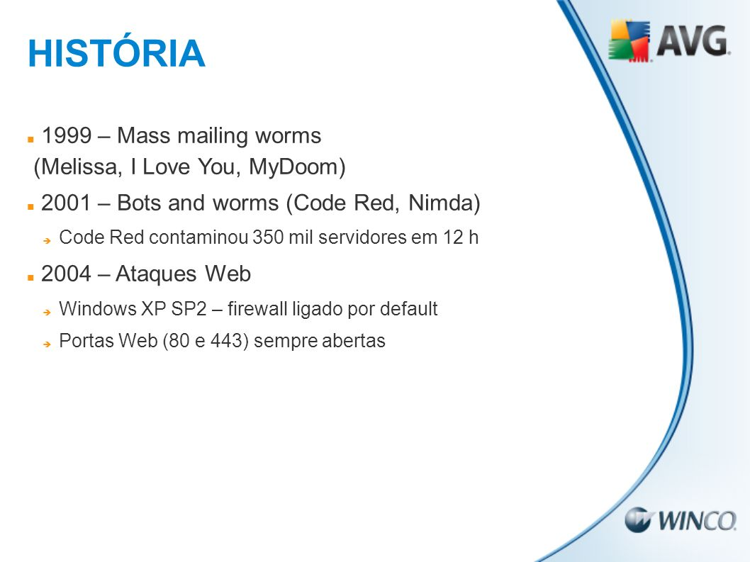 HISTÓRIA 1999 – Mass mailing worms (Melissa, I Love You, MyDoom)
