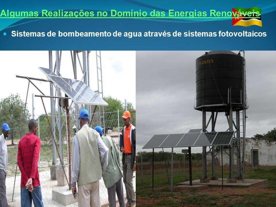 Algumas Realizações no Domínio das Energias Renováveis
