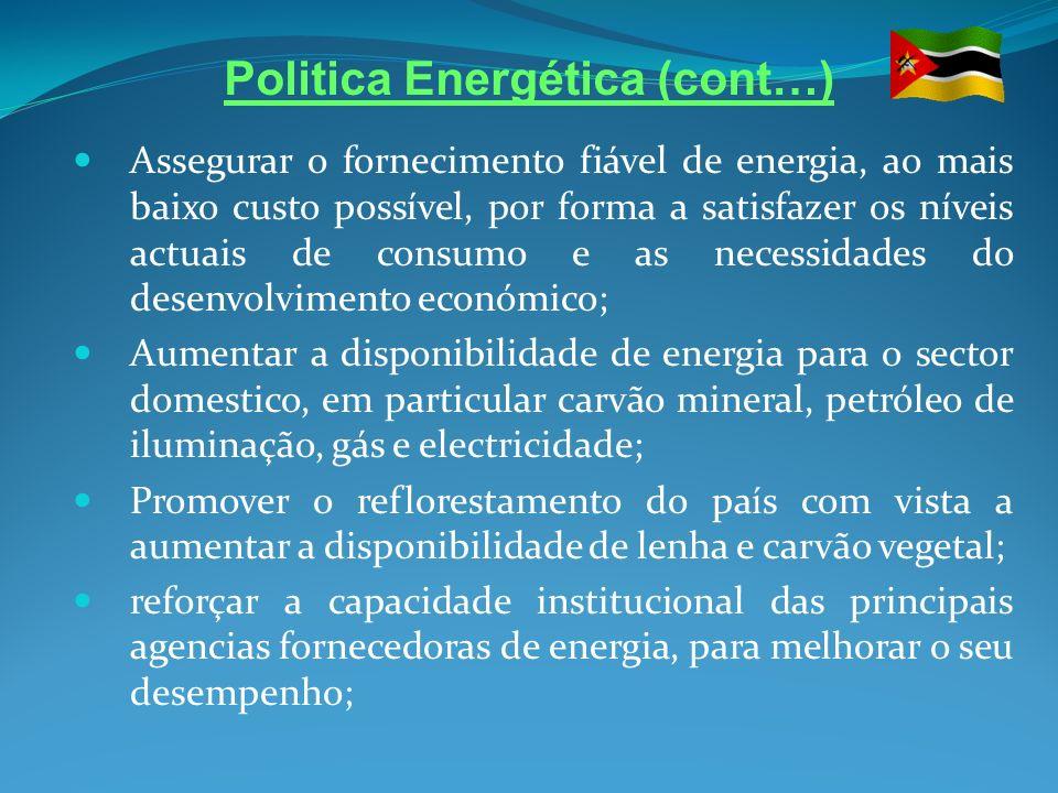 Politica Energética (cont…)