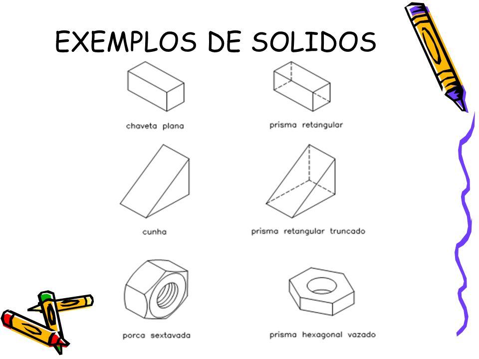 EXEMPLOS DE SOLIDOS
