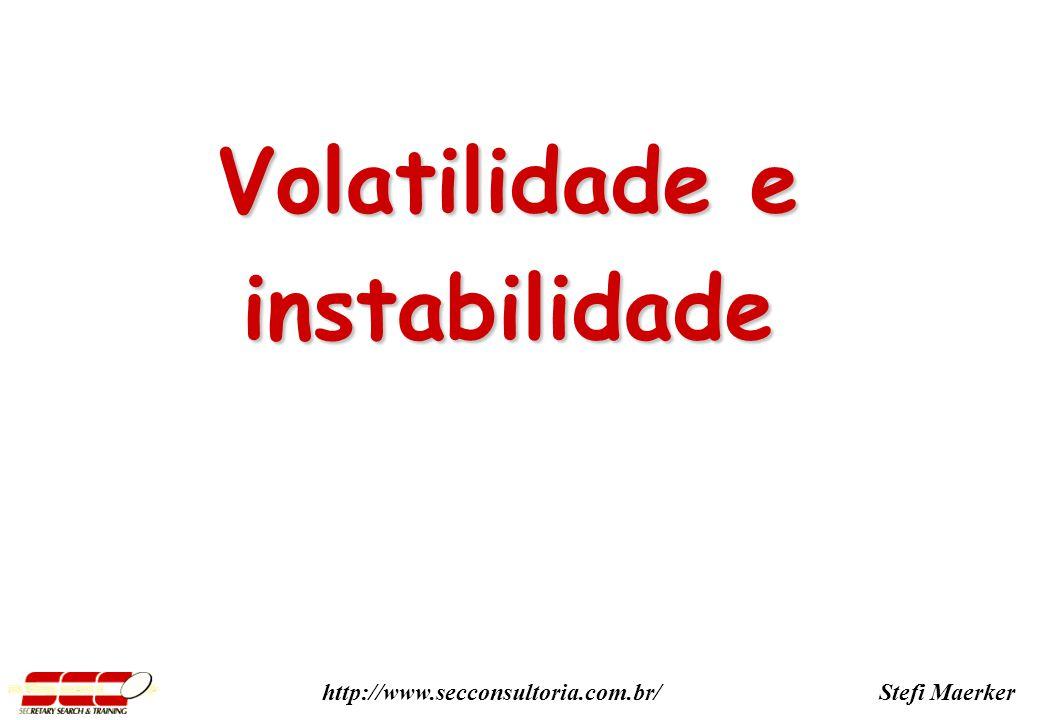 Volatilidade e instabilidade