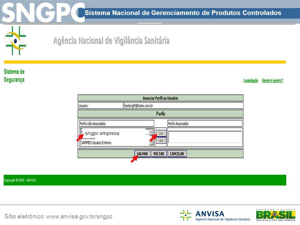 sngpc empresa