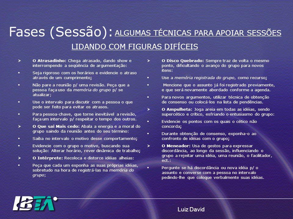 LIDANDO COM FIGURAS DIFÍCEIS