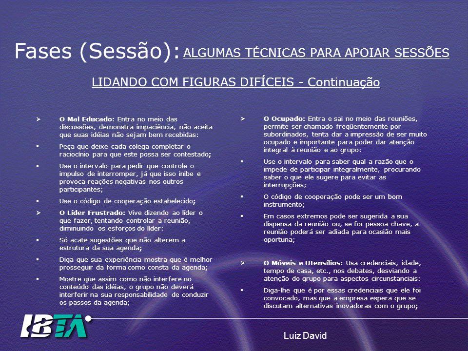 LIDANDO COM FIGURAS DIFÍCEIS - Continuação