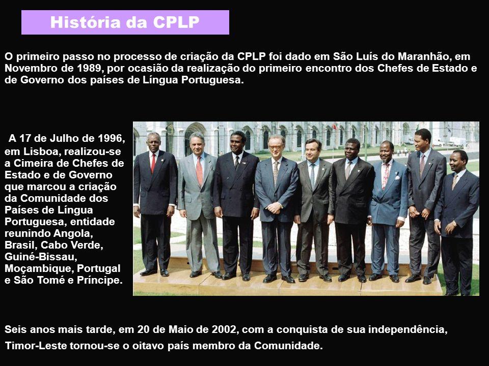 História da CPLP