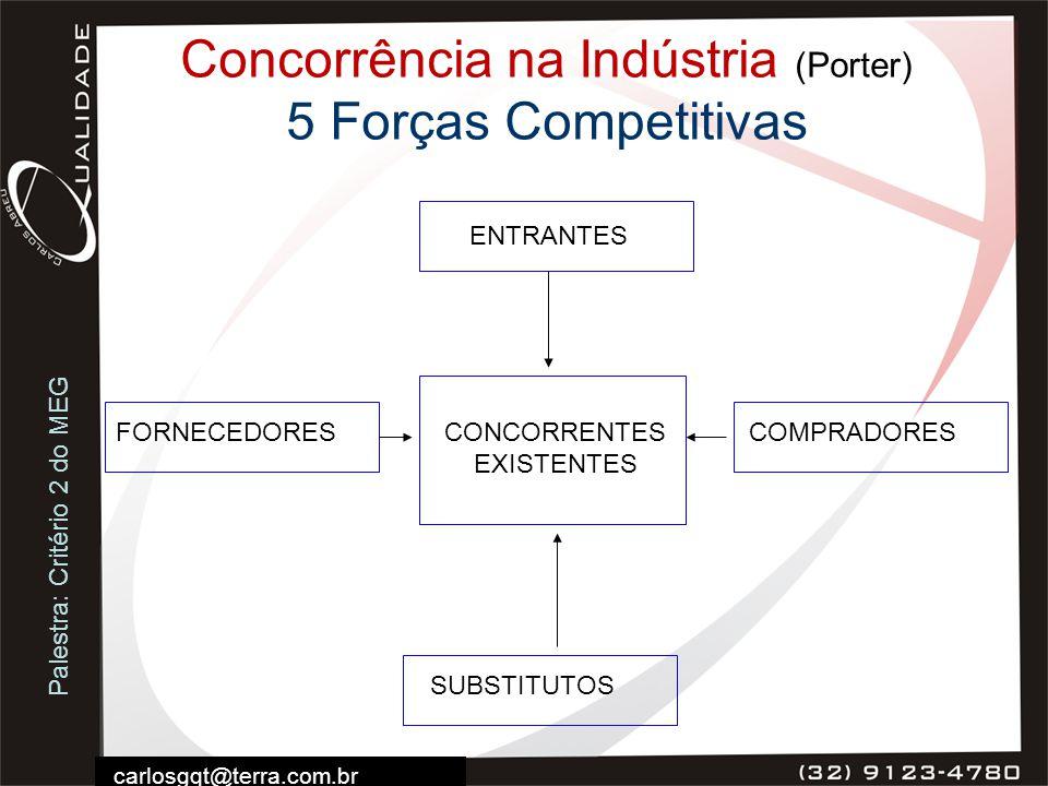 Concorrência na Indústria (Porter) 5 Forças Competitivas