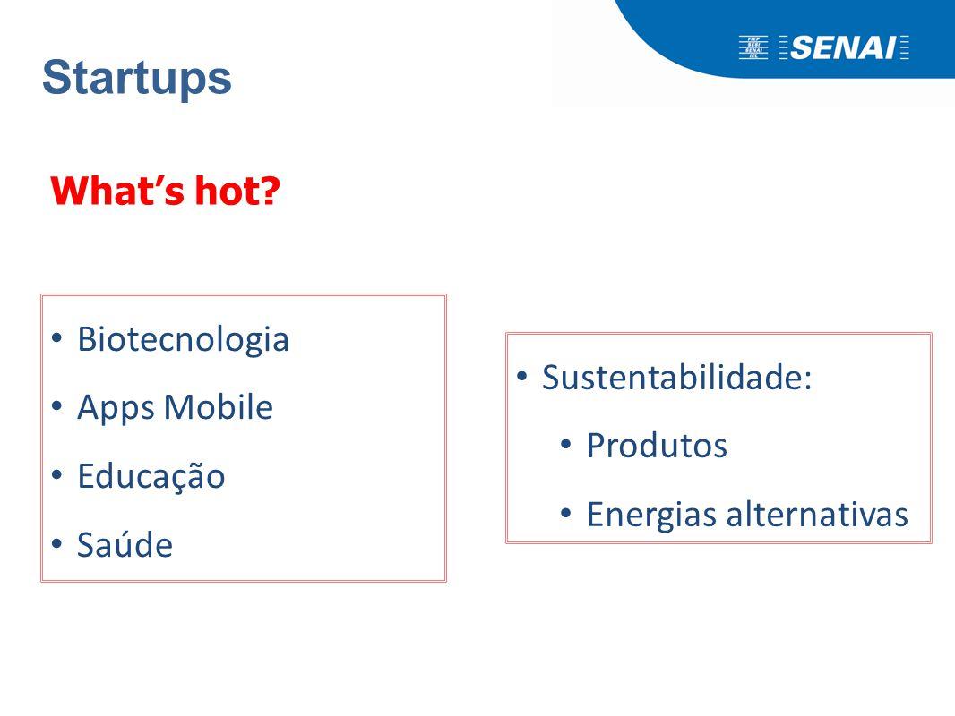 Startups Em Estágio Inicial ou de Crescimento;