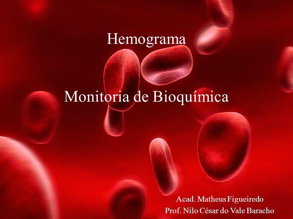 Hemograma Monitoria de Bioquímica