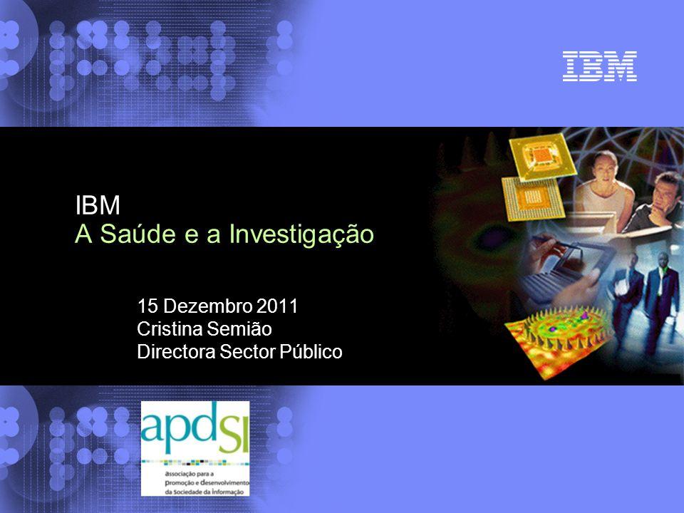 IBM A Saúde e a Investigação