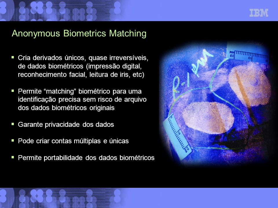 Anonymous Biometrics Matching
