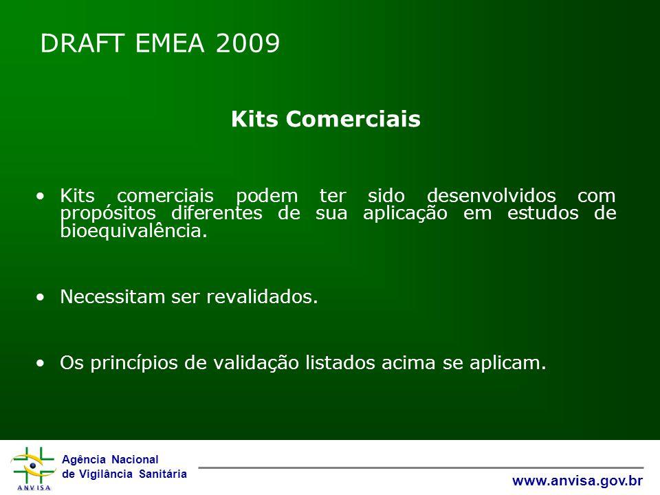 DRAFT EMEA 2009 Kits Comerciais