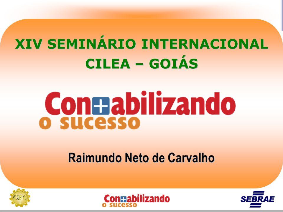 XIV SEMINÁRIO INTERNACIONAL Raimundo Neto de Carvalho