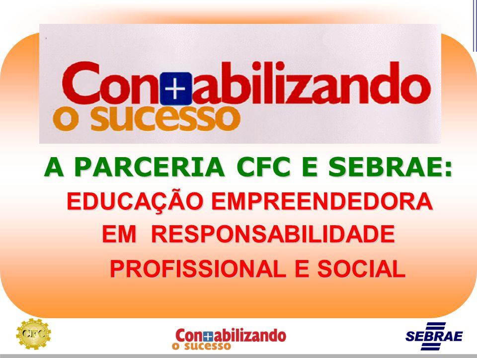 A PARCERIA CFC E SEBRAE: