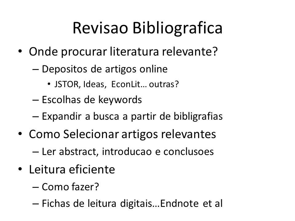 Revisao Bibliografica