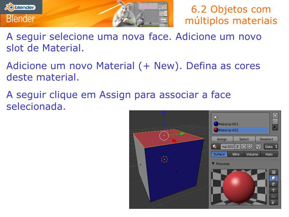 6.2 Objetos com múltiplos materiais