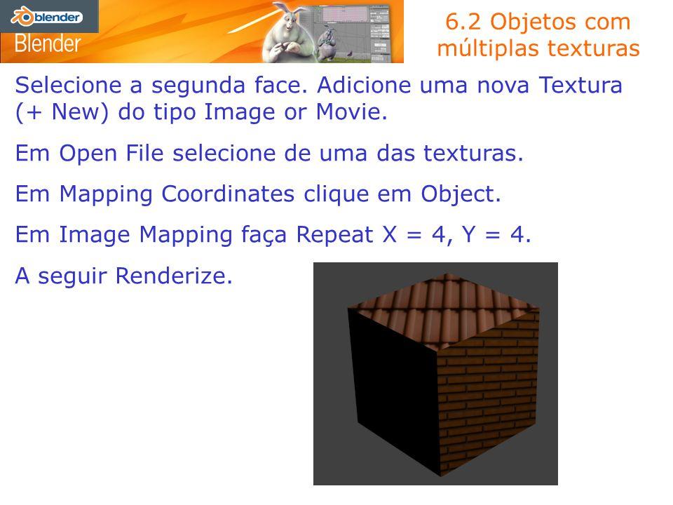 6.2 Objetos com múltiplas texturas